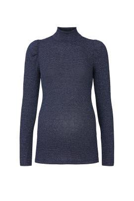 Metallic Rib Ada Maternity Sweater by Rachel Pally