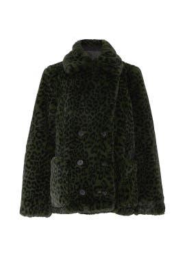 Miles Leo Faux Fur Coat by Zadig & Voltaire