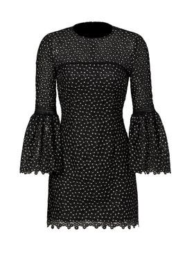 Ditzy Floral Mesh Dress by Cynthia Rowley