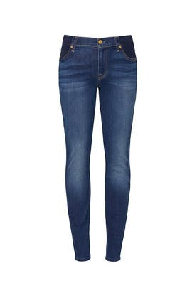 Light Blue Maternity Jeans by 7 For All Mankind
