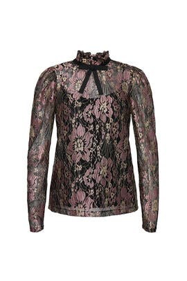 Floral Lace Blouse by NISSA