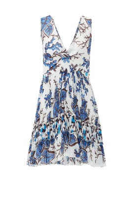 Autumn Flower Mini Dress by Thakoon