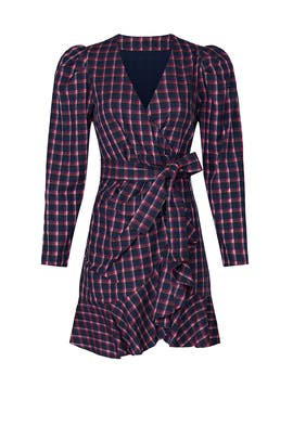 Plaid Lexi Dress by Tanya Taylor
