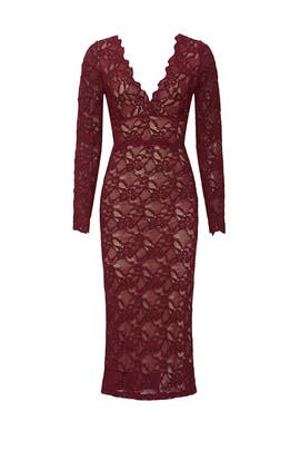 Wisteria Midi Dress by Nightcap