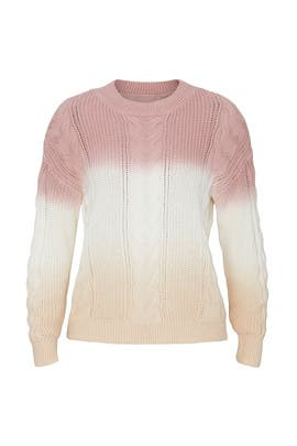 Yara Ombre Pullover by One Grey Day