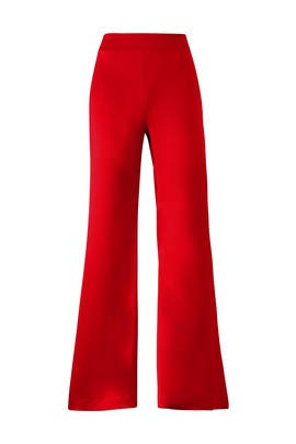 Scarlet Trousers by GALVAN