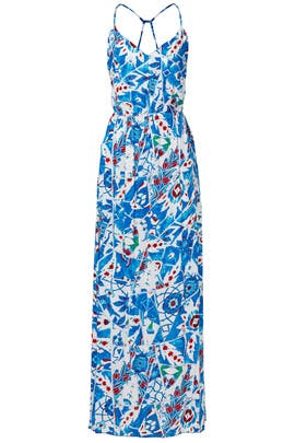 Desert Flower Print Maxi Dress by Josie by Natori