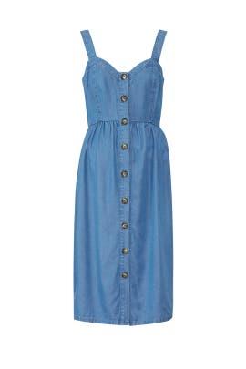 Adelia Denim Maternity Dress by Seraphine