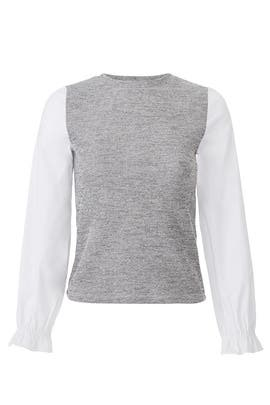 Two Tone Knit Top by Slate & Willow
