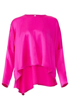 Hot Pink Gabby Top by AMUR