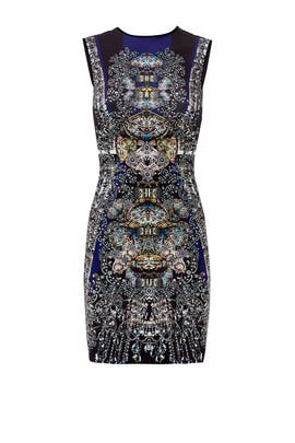 Russian Enamel Dress by Clover Canyon