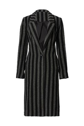 Charcoal Stripe Coat by Endless Rose