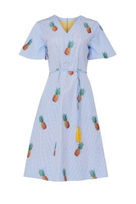 Printed Heidi Dress by Autumn Adeigbo