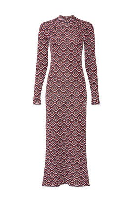 Fitted Geometric Dress by Paco Rabanne