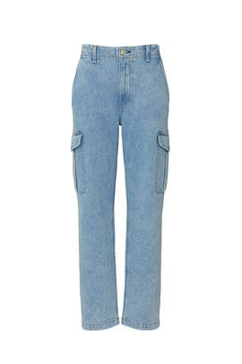 Super High Rise Cargo Jeans by rag & bone JEAN
