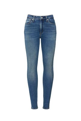 Exmoor Nina High Rise Ankle Jeans by rag & bone JEAN