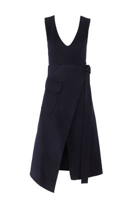 Wool Navy Dress by Goen. J