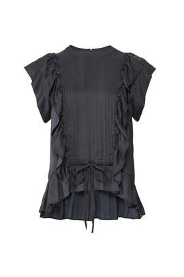 Toundra Ruffle Blouse by Zadig & Voltaire