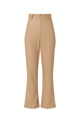 Polly Faux Leather Pants by BARDOT