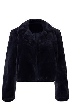 Faux Fur Open Seas Coat by BlankNYC