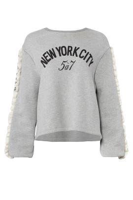 NYC Beppe Sweatshirt by Cinq à Sept