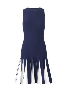 Blue Varsity Dress by Milly