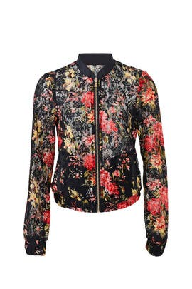 Lace Reesa Bomber Jacket by Rino & Pelle