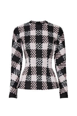 Check Top by Marni