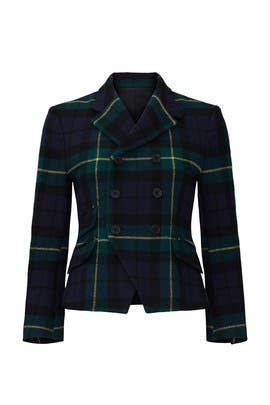 Plaid Kirra Blazer by Polo Ralph Lauren