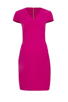 Fuchsia Maternity Sheath by Slate & Willow
