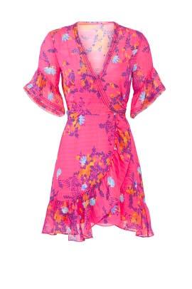 Brandy Wrap Dress by Tanya Taylor