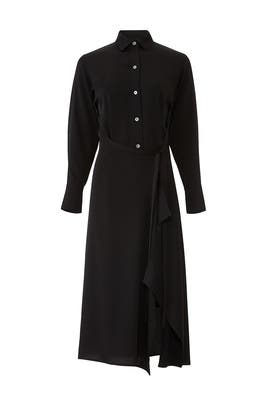 Tie Front Shirtdress by VINCE.