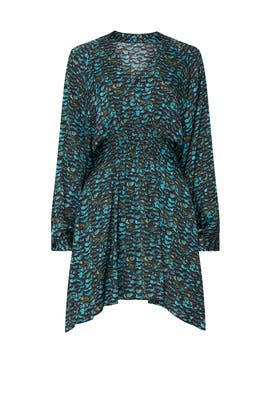Nichola Plume Dress by AllSaints