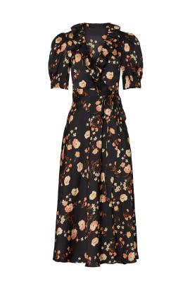 Anouk Print Midi Dress by Jill Jill Stuart