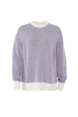 Cashfeel Multi Sweater by Jason Wu Grey