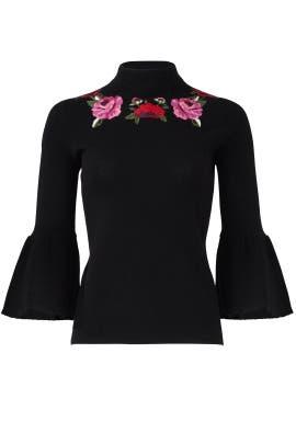 68de9cb81b5 Black Blossom Sweater by kate spade new york for  55
