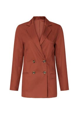 Rust Blazer by Sweet Baby Jamie