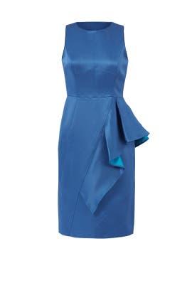 Blue Elisa Dress by Shoshanna