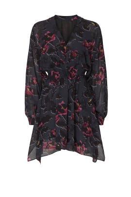 Nichola Rosalyn Dress by AllSaints