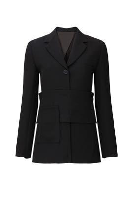 Black Soft Tailoring Blazer by 3.1 Phillip Lim