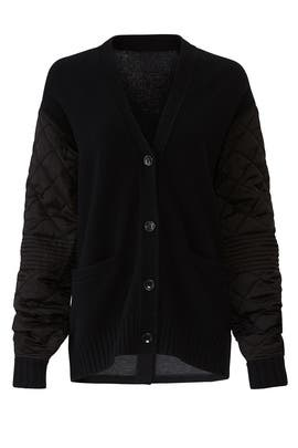 Textured Wool Knit Cardigan by Proenza Schouler White Label