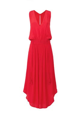 Raspberry Hailey Dress by Ramy Brook