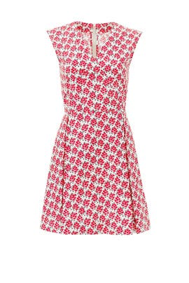 Rosy Picnic Dress by Suno