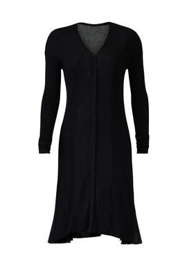 Black Cardigan Dress by ADEAM
