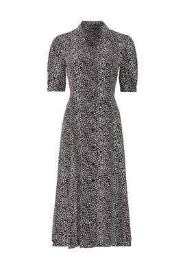 Lily Cinch Sleeve Midi Dress by Diane von Furstenberg