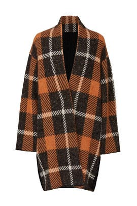 Orange Plaid Jacket by (nude)