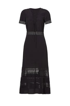 Black Marshall Dress by Rebecca Minkoff