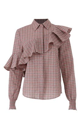 Collegiate Check Shirt by The Fifth Label
