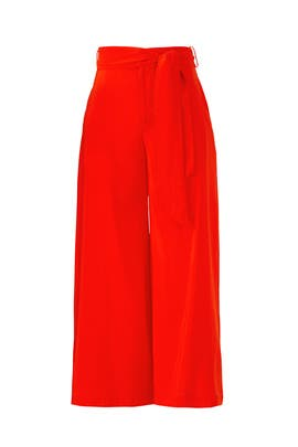 Orange Maui Pants by The Jetset Diaries
