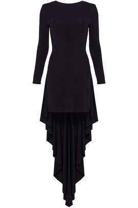 Black High Low Dress by Antonio Berardi